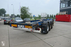 Turbo's Hoet Container Chassis / 1x40ft / 2x20ft / BPW + Drum semi-trailer used container