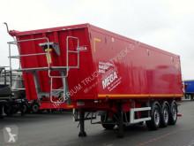 Semitrailer Mega TIPPER 46 M3 / LIFTED AXLE / FLAP-DOORS / flak begagnad