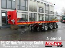Návěs Es-ge 3-Achs-Ballastauflieger plošina použitý