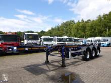 Semirremolque portacontenedores Dennison container trailer 20 ft