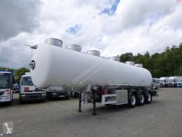 Semirremolque cisterna alimentaria Magyar Food tank inox 28.5 m3 / 4 comp + pump