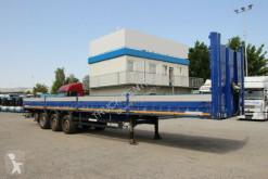 Semi remorque plateau Schmitz Cargobull S1 W060, MULDA, AXLES M-B, WEBCO, TIRES 60%