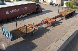 Semirremolque Broshuis 3AOU-48 / Double Extendable / 23.85M / Double Table / 3x Steering axle / ABS / BPW Drum / Air suspension / Timberstakes caja abierta usado