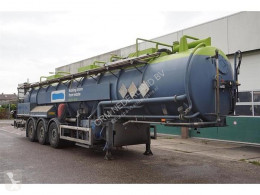 Semirimorchio Stokota Vacuum Tank trailer 28.500 Liter ADR Ecota Tank RVS donkey engine cisterna usato