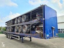 Semitrailer Montracon / air suspension / ROR platta begagnad