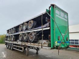 Semitrailer M&G / air suspension / ROR platta begagnad