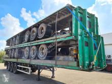 GT Trailers / air suspension / ROR semi-trailer used flatbed