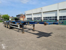 Semi remorque porte containers Fruehauf T39C18 Container chassis 40ft. / 30ft. / 20ft. / 2x20ft. / 20ft. in the middle