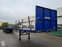 Semiremorca platformă Lintrailers 3AUON 18 27 Flatbed with Timberstakes (extendable 21m)