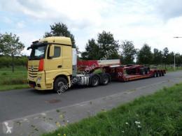 Goldhofer heavy equipment transport semi-trailer STZ VL4-52/80a + SX 2-33/80 dolly