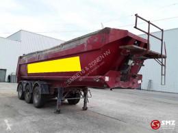 Robuste Kaiser tipper semi-trailer Oplegger ijzer/acier/iron