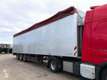 Stas moving floor semi-trailer Schubboden Walkingfloor 93 m³ Liftachse Plane