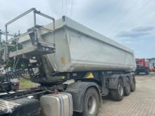 Semi reboque basculante Schmitz Cargobull SKI SKI 24 SL 06 7.2 Kipper Stahlrundmulde Liftachse