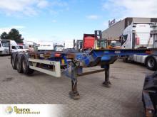 Semitrailer containertransport Van Hool S/00101 + + extendable