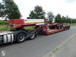 Goldhofer heavy equipment transport semi-trailer STZ VL 4-52/80A + SX 2-33/80 Dolly