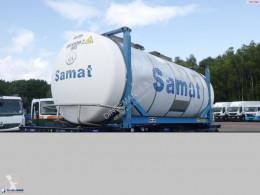 Van Hool Tankfahrzeug Tank container 20 ft / 31 m3