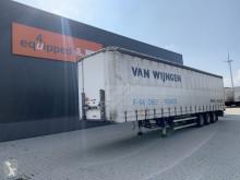 Semitrailer Groenewegen BPW+trommel, hardh. vloer, 2.8m, rongpotten/ rongen, APK 08-22 skjutbara ridåer (flexibla skjutbara sidoväggar) begagnad