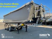 Semirimorchio ribaltabile Schmitz Cargobull Kipper Alukastenmulde 34m³