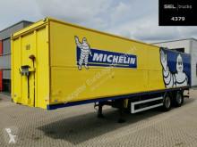Ackermann beverage delivery flatbed semi-trailer System Trailer / Böse / Ladebwd. / Lenkachse