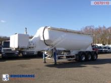 Návěs cisterna Feldbinder Powder tank alu 36 m3 / 1 comp + engine/compressor