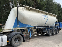 Semi remorque citerne Spitzer SF2436PFAL - 36m3 - (Cement) Silo - Onderlosser - FR papers - goede staat