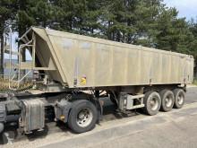 Semitrailer Fruehauf 25m³ - 3-ESS BENNE - CHASSIS ACIER / BENNE ALU - SUSPENSION LAMES / STEEL CHASSIS - ALU TIPPER - SRPING SUSPENSION flak begagnad