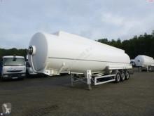 Semirremolque Magyar Fuel tank alu 43.2 m3 / 8 comp + counter cisterna usado