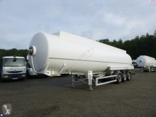 Semi remorque citerne Magyar Fuel tank alu 43.2 m3 / 8 comp + counter