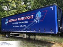 Semitrailer Jumbo EO 100 S14, 1500 kg AMA lift, Truckcenter Apeldoorn skjutbara ridåer (flexibla skjutbara sidoväggar) begagnad