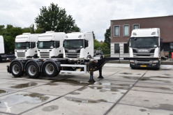 Trailer D-TEC FT-43-03V - BPW AXLES - DRUM BRAKES - LIFT AXLE - 3 x EXTENDABLE - tweedehands containersysteem