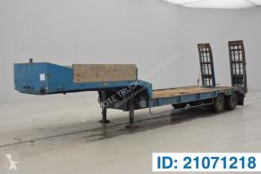 Fruehauf heavy equipment transport semi-trailer Low bed trailer