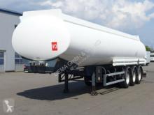 Merceron *Vollluft*ROR-Achsen*38000lite Benzin semi-trailer used oil/fuel tanker