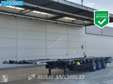 Yarı römork konteyner taşıyıcı Kögel S24-2 Liftachse Extendable Ausziehbar