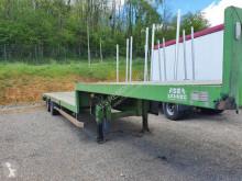 Naczepa Asca plateau bas do transportu sprzętów ciężkich używana