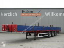 ES-GE半挂车 3 SAL Auflieger Pritsche*Liftachse*Rungentasch 底盘 车厢挡板 二手