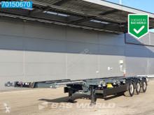 Kögel S24-2 2x20-1x30-1x40ft Liftachse Extendable Ausziehbar semi-trailer used container