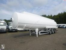 Semi remorque Magyar Fuel tank alu 43.2 m3 / 8 comp + counter citerne occasion