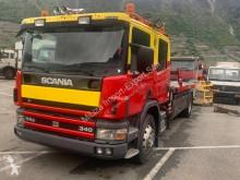 Caminhões Scania P114 Scania P114 GB Kran porta carros usado