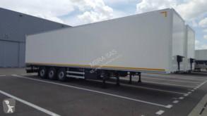Lecitrailer plywood box semi-trailer Fourgon 3 essieux - porte FIT
