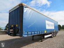 Semitrailer Krone 3 akslet sættevogn med lift skjutbara ridåer (flexibla skjutbara sidoväggar) begagnad