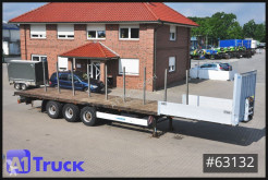 Návěs plošina Krone SD 27, Plattform, Steckrungen, Multilock, Liftachse
