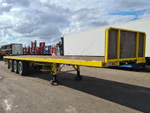 Semi remorque plateau Pacton 3142 D Flatbed with Timberstakes and Twistlocks 40ft. / 30ft. / 20ft.