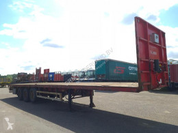 Semi remorque plateau Pacton T3-001 Flatbed with Timberstakes and Twistlocks 40ft. / 20ft.