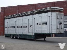 Sættevogn Pezzaioli 3/4 deck - Type 2 - Water & ventilation - Lifting roof - 127.36M2 - TUV: 06-03-2022 - kvaeg kreaturvogn brugt