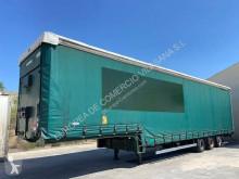 Yarı römork Lecitrailer TAULINER CUELLO DE CISNE sürgülü tenteler (plsc) ikinci el araç