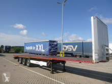 Krone SDP Plateau Sattelauflieger mit Containerverriegelung 27 eLCVB4-SW semi-trailer used flatbed