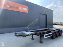 Návěs nosič kontejnerů Burg 20FT valid ADR (05/2022), empty weight: 3.690kg, SAF INTRADISC, 2x liftaxle