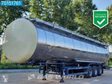 Návěs Feldbinder TSA 54.3 ADR / Chemie / 54.000 Ltr / 3 Comp / Heating cisterna chemikálie použitý