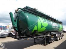Sættevogn Kässbohrer 60m3, 5 manholes, Powder, Munters Drytainer installation citerne brugt