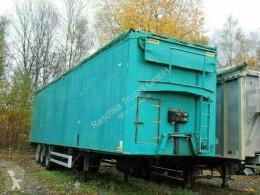 Samro moving floor semi-trailer Soccari *walkingfloor* Hydraulisches Dach